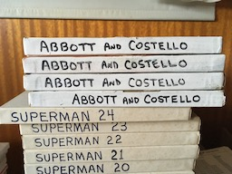 Abbott and Costello Reel Boxes