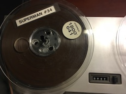 Superman Tape Reel